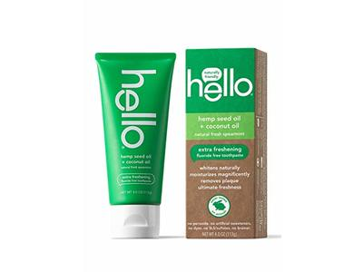 Hello Oral Care Hemp Seed Oil Fluoride-Free Toothpaste, 4 Ounce