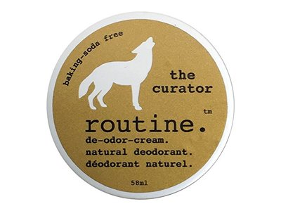 Routine De-Odor-Cream Handcrafted Natural Deodorant Cream, 50ml - Image 1