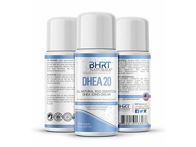 BHRT Naturals DHEA 20 Cream, 3.4 oz/100 mL