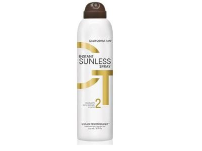 California Tan Instant Sunless Spray, 6 fl oz