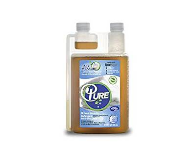 Pure Natural Easy Measure Natural Laundry Detergent, Free & Clear, 64 loads