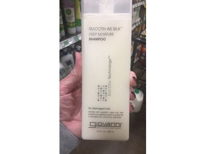 Giovanni Smooth As Silk Deep Moisture Organic Shampoo, 8.5 fl oz - Image 3