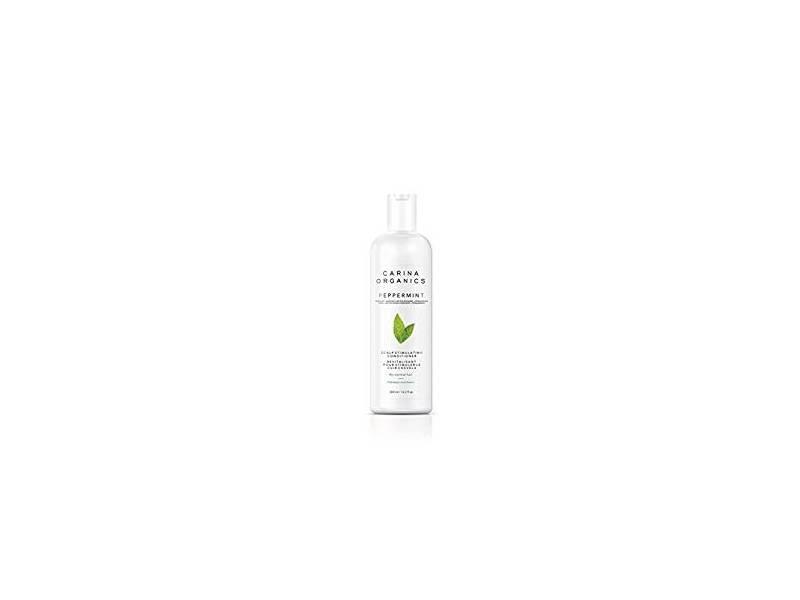 Carina Organics Peppermint Cooling Scalp Stimulating Conditioner, 12.2 f l oz