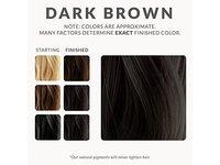 Henna Color Lab Henna Hair Dye (Dark Brown) - Image 8