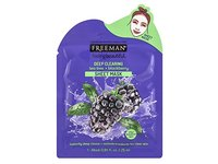 Freeman Feeling Beautiful Deep Clearing Tea Tree + Blackberry Sheet Mask, 1 mask 0.84 fl oz - Image 2