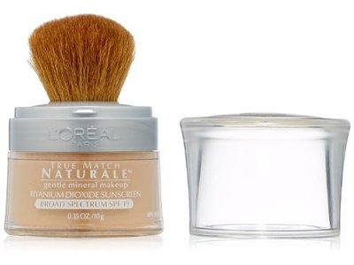 L'Oréal Paris True Match Loose Powder Mineral Foundation, Natural Beige, 0.35 oz. - Image 1