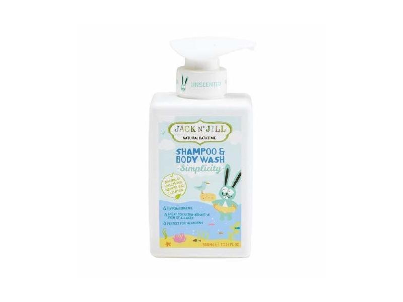 Jack n Jill Natural Bathtime Shampoo Body Wash, 14 fl oz