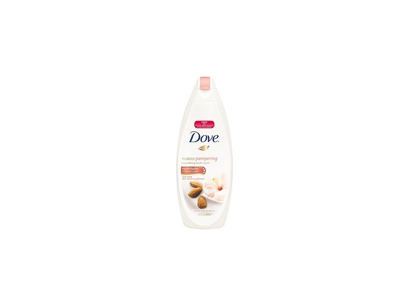 Dove Nourishing Body Wash Almond Cream With Hibiscus