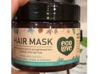 Eco Love Hair Mask For Intensive Care & Straightened Hair, 11.8 fl oz - Image 4