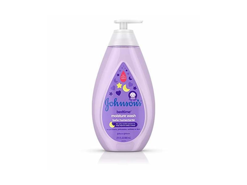Johnson's Bedtime Baby Moisture Wash, 27.1 fl oz
