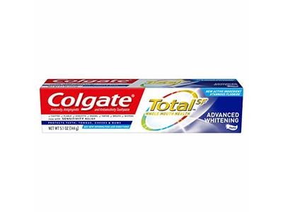 Colgate Total Advanced Whitening Toothpaste, 5.1 Ounce