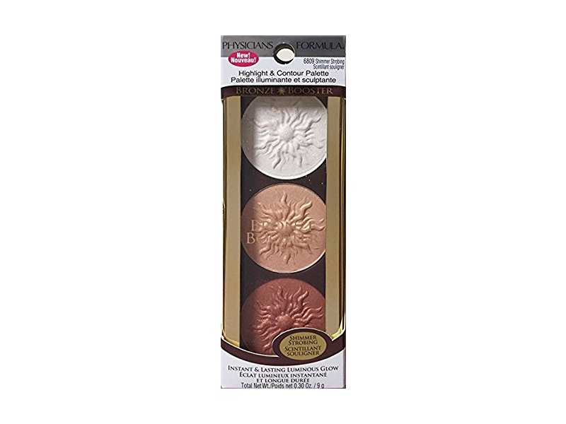 Physicians Formula Bronze Booster Highlight & Contour Palette, 6809 Shimmer Strobing
