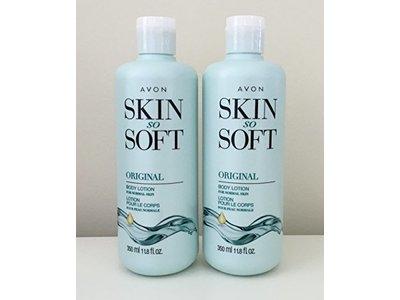 Avon Skin So Soft Original + Jojoba Body Lotion, 11.8 fl oz
