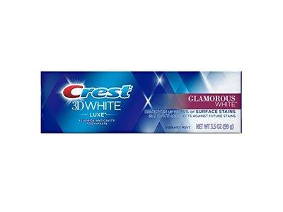 Crest 3D White Luxe Glamorous White Toothpaste, Vibrant Mint, 3.5 oz