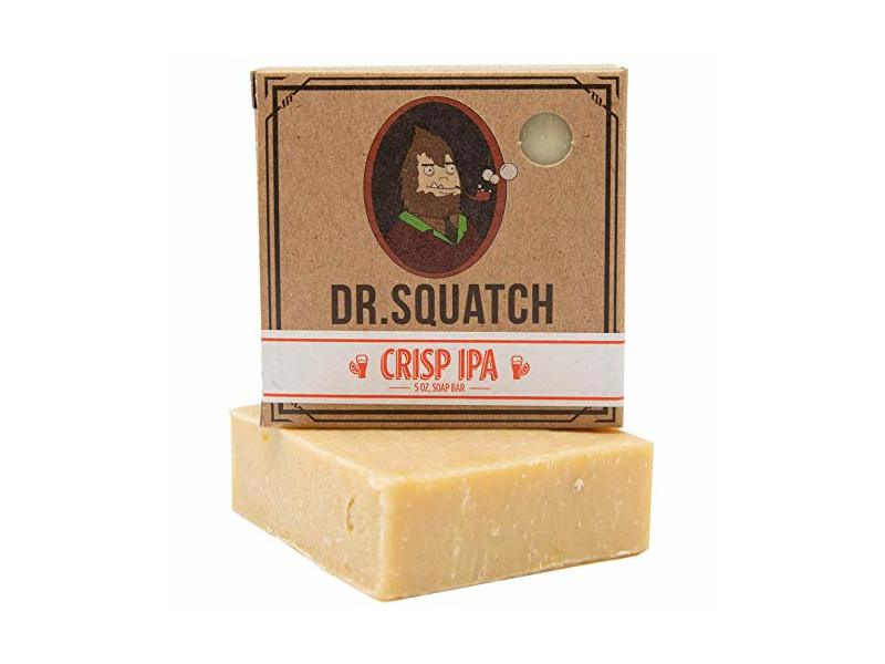 Dr. Squatch Crisp IPA Men's Bar Soap, 5 oz