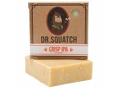 Dr. Squatch Crisp IPA Men's Bar Soap, 5 oz