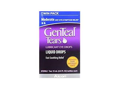 Genteal Tears Drop 1-0.3-0.2%, 0.5 fl oz