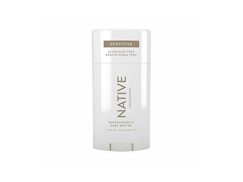 Natural Sensitive Native Sandalwood & Shea Butter Aluminum-Free Deodorant, 2.65 oz