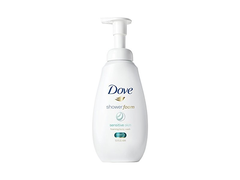 Dove Shower Foam Sensitive Skin, 13.5 oz