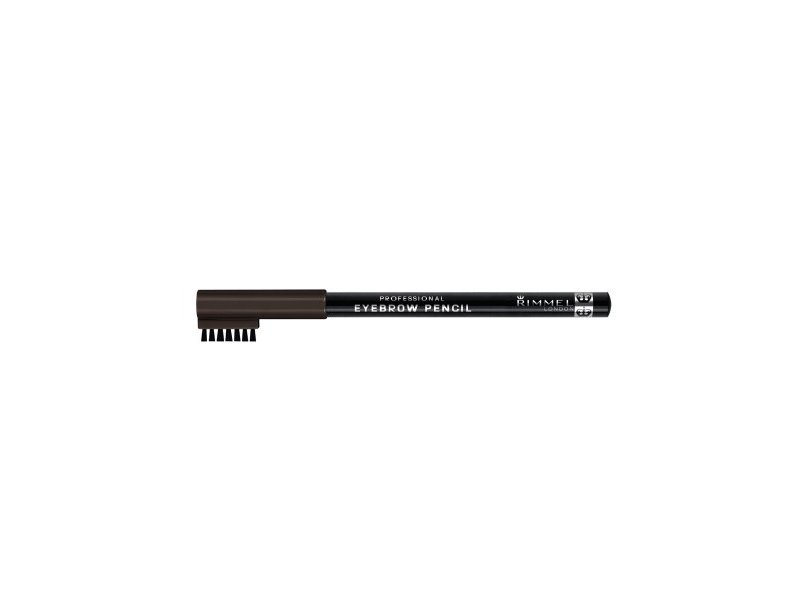 Rimmel London Professional Eyebrow Black Brown, 0.05 fl oz/1.4 g