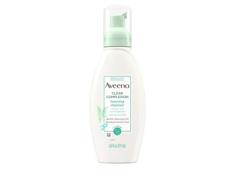 Aveeno Clear Complexion Foaming Salicylic Acid Cleanser