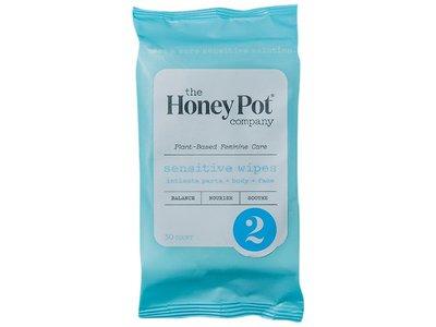 The Honey Pot Company Sensitive Wipes, 30 count