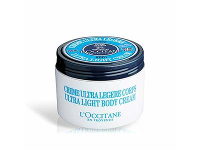 L'Occitane Shea Ultra Light Body Cream, 200 mL/128 g