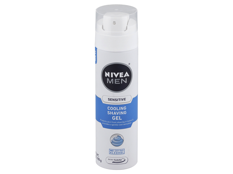 Nivea Men Sensitive Cooling Shave Gel, 7 oz