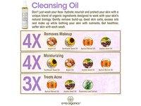 Era Organics Facial Cleansing Oil & Makeup Remover, 5 oz - Image 5