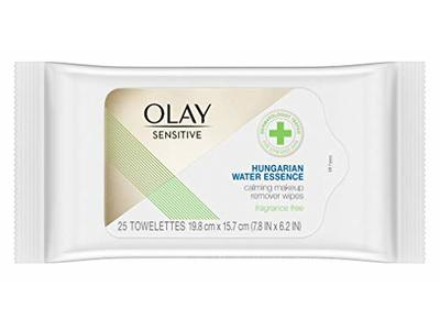 Olay Sensitive Makeup Remover Wipes with Hungarian Water Essence