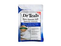 Dr. Teal's Pure Epsom Salt Soaking Solution, Fragrance Free, 4 Lbs / 1.81 kg, Pack Of 4 - Image 2