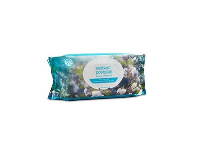 Sustain PostPlay Natural Towelettes, 48 Count