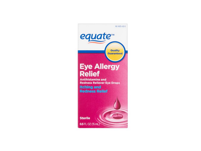 Equate Eye Allergy Relief Drops, 0.5 fl oz