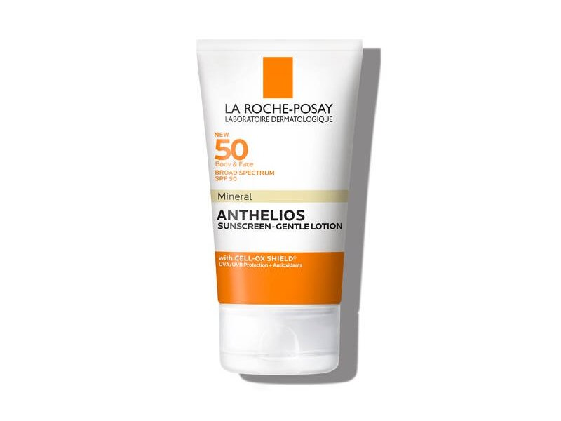 Anthelios SPF 50 Mineral Gentle Lotion Mineral Sunscreen