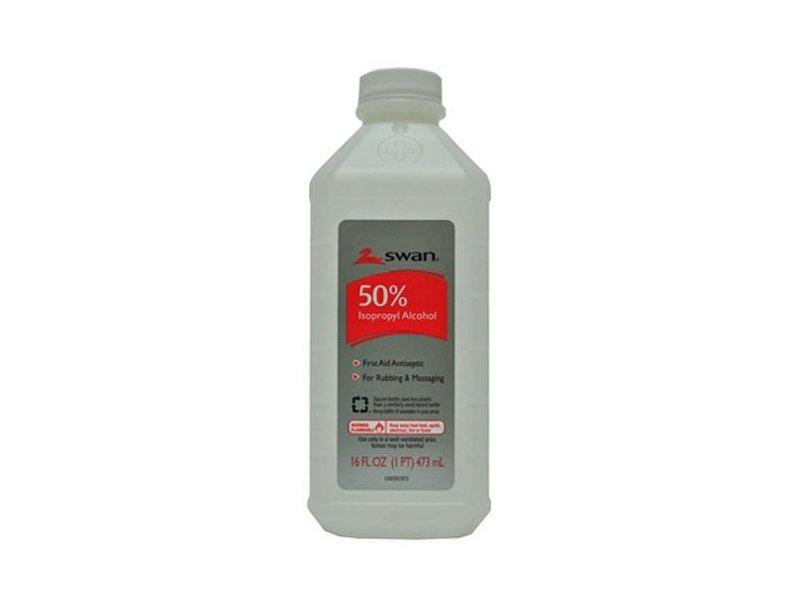 Swan 50% Isopropyl Alcohol, 16 fl oz