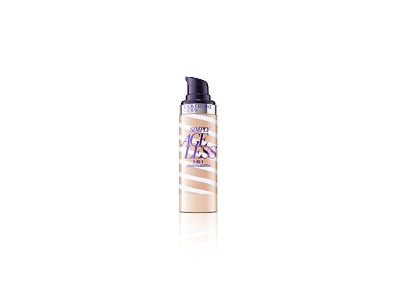 CoverGirl Olay Simply Ageless 3-in-1 Foundation, Natural Beige, 1 Fluid Ounce