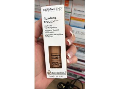 Dermablend Flawless Creator Liquid Foundation Makeup Drops, Oil-Free, Water-Free, 45C, 1 Fl. Oz. - Image 3