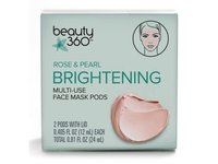Beauty 360 Rose & Pearl Brightening Multi-Use Face Mask Pods - Image 2