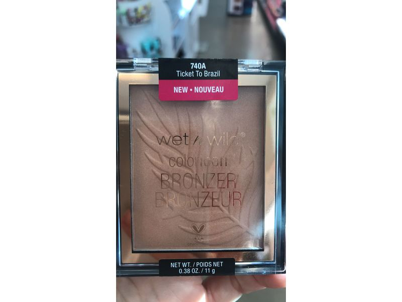Wet N Wild Color Icon Bronzer, Ticket To Brazil
