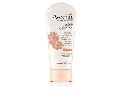 Aveeno Ultra-Calming Hydrating Gel Facial Cleanser for Dry and Sensitive Skin, 5 oz - Image 1