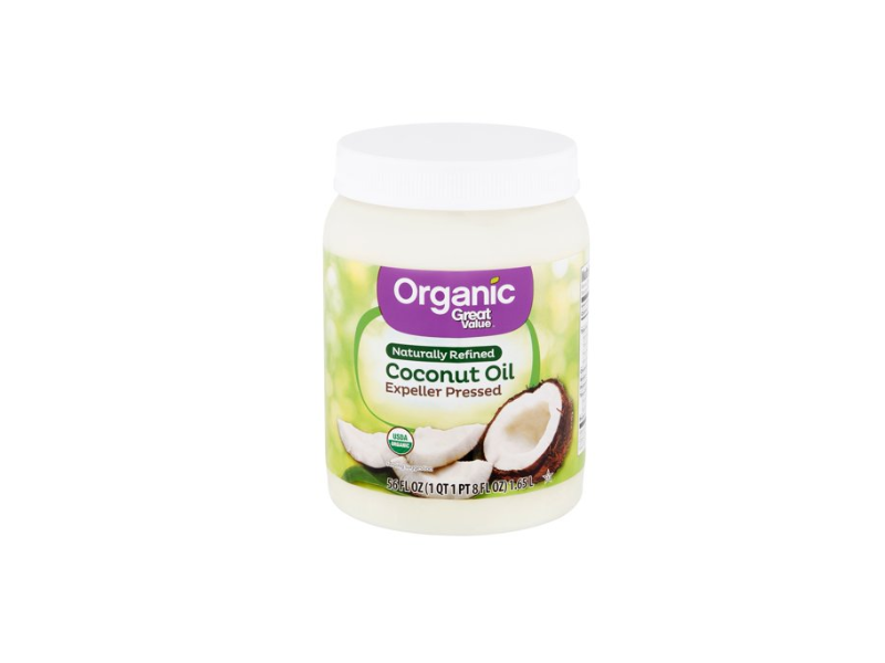 Great Value Organic Coconut Oil, 56 fl oz