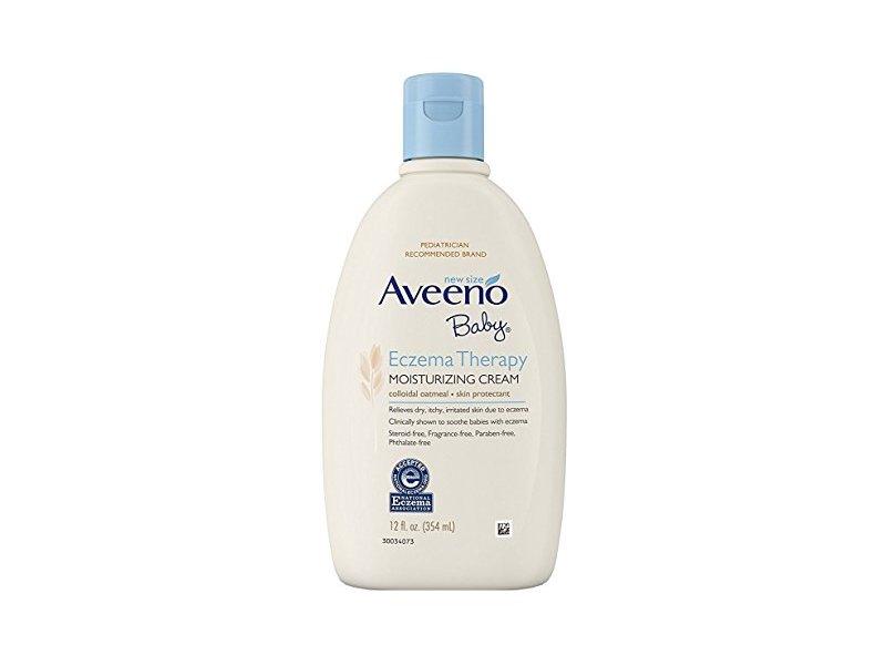 Aveeno Baby Eczema Therapy Moisturizing Cream, 12 Ounce