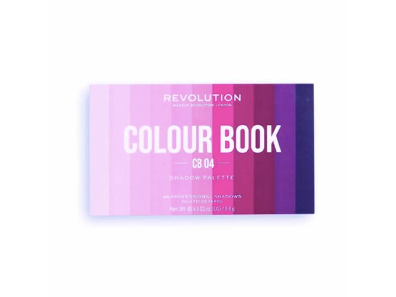 Makeup Revolution London Colour Book CB 04 Shadow Palette, 0.02 oz/0.8 g
