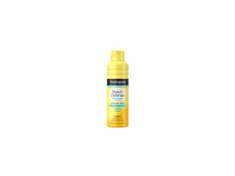 Neutrogena Beach Defense Oil-Free Body Sunscreen Spray SPF 50