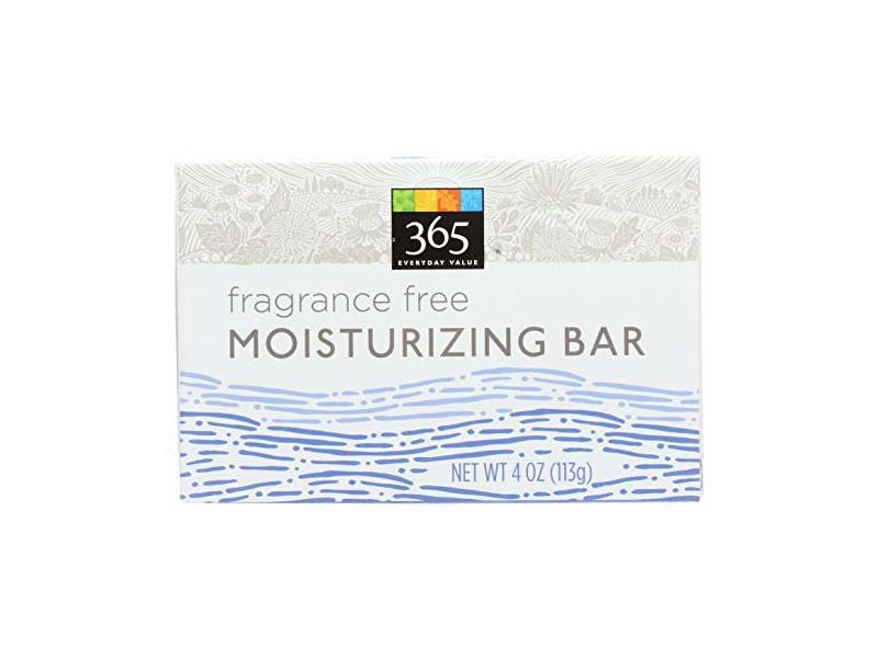 365 Everyday Value, Moisturizing Bar, Fragrance-Free, 4 Ounce