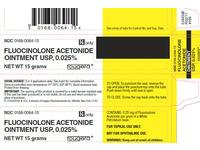 Fluocinolone Acetonide Ointment 0.025% (RX) 15 Grams, Sandoz - Image 2