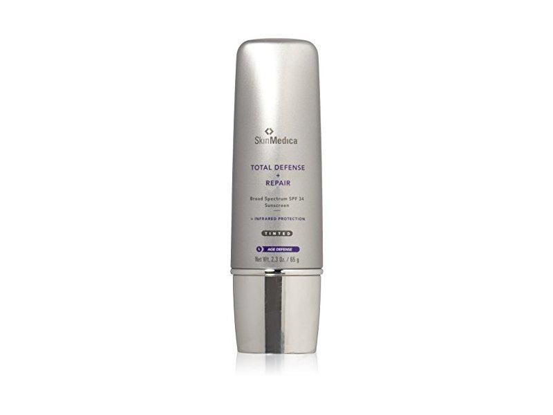 Skinmedica Total Defense + Repair, Sunscreen, SPF 34, Tinted, 2.3 oz