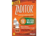 Alcon Zaditor Eye Itch Relief Antihistamine Eye Drops, 0.34 oz (Twin Pack) - Image 5