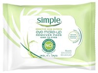 Simple Skincare Eye Make-up Remover Pads, 30 count - Image 2