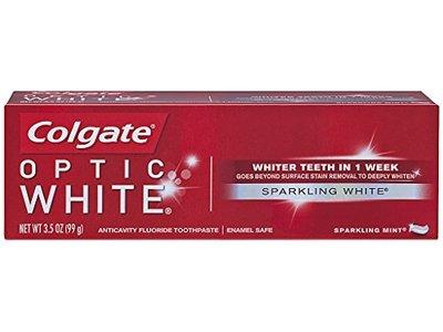 Colgate Optic White Toothpaste, Sparkling White, 3.5 oz - Image 1